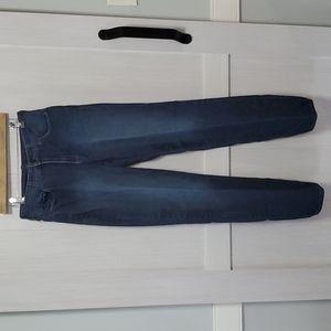 NJDJ blue straight leg jeans sz 8 tall